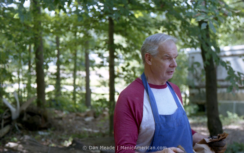 Keith Allen, founder of Allen and Son Bar-B-Q in Chapel Hill, NC.