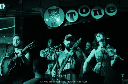 The Dead Soldiers Onstage at the Hi-Tone, Memphis