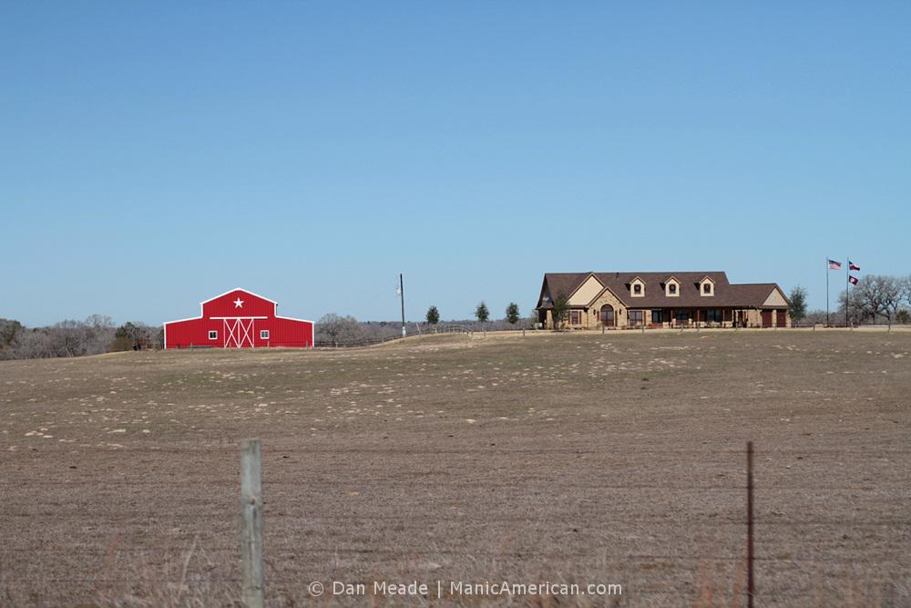 A roadside ranch.