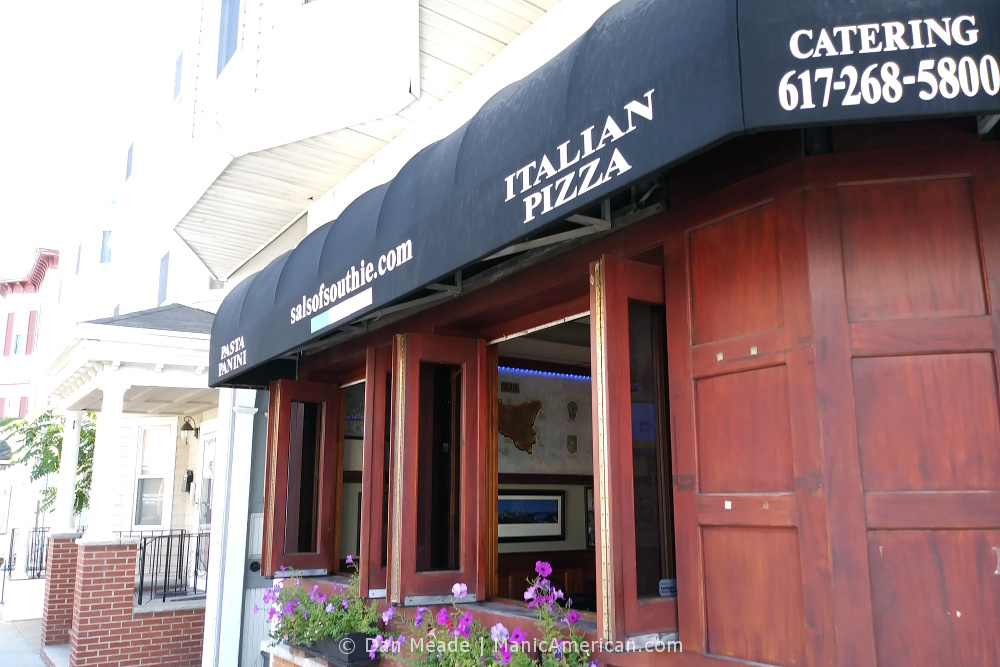 The exterior of Sal's in Southie