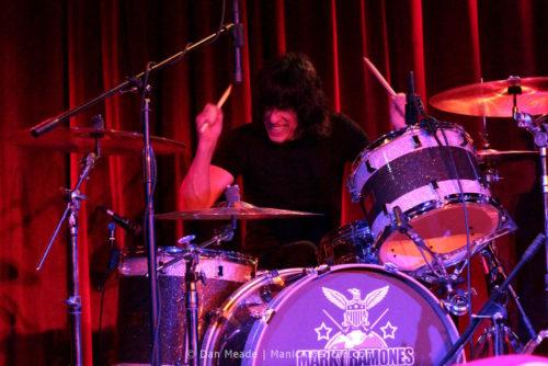 Mark Ramone on stage.