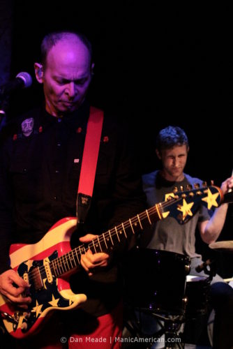 Wayne Kramer plays at the Bowery Electric.
