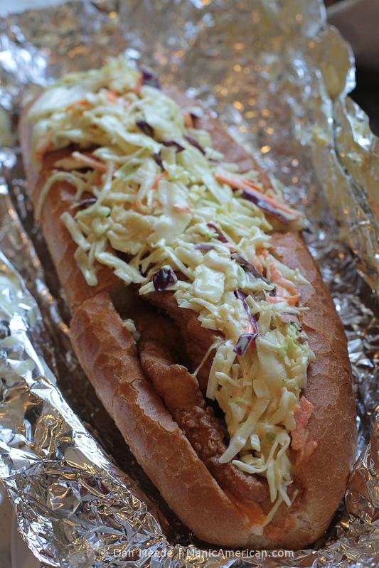The Cuban Haddock sandwich.