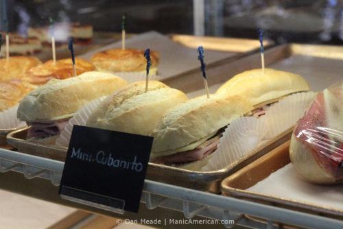 Versailles's Mini-Cubanito sandwiches.