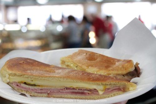 Versailles's Medianoche sandwich.