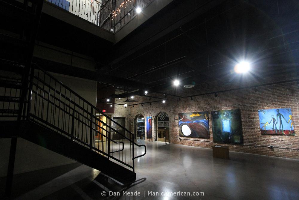An atrium inside the McCrory Timmerman Building.