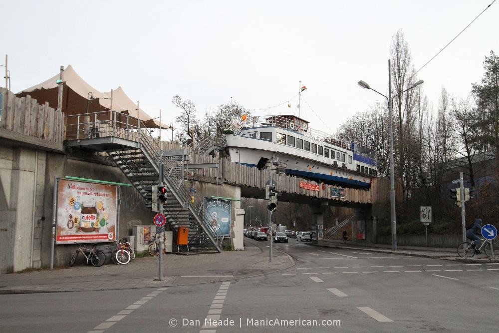 Munich's Alte Utting boat bar.