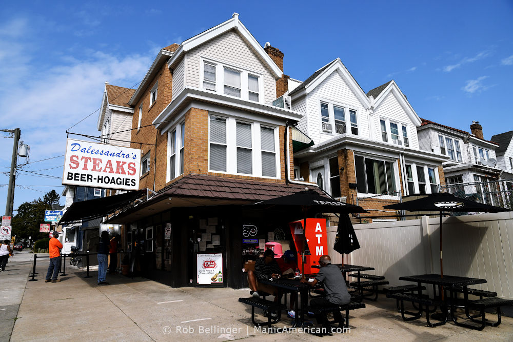 A hoagie business housed in a row house