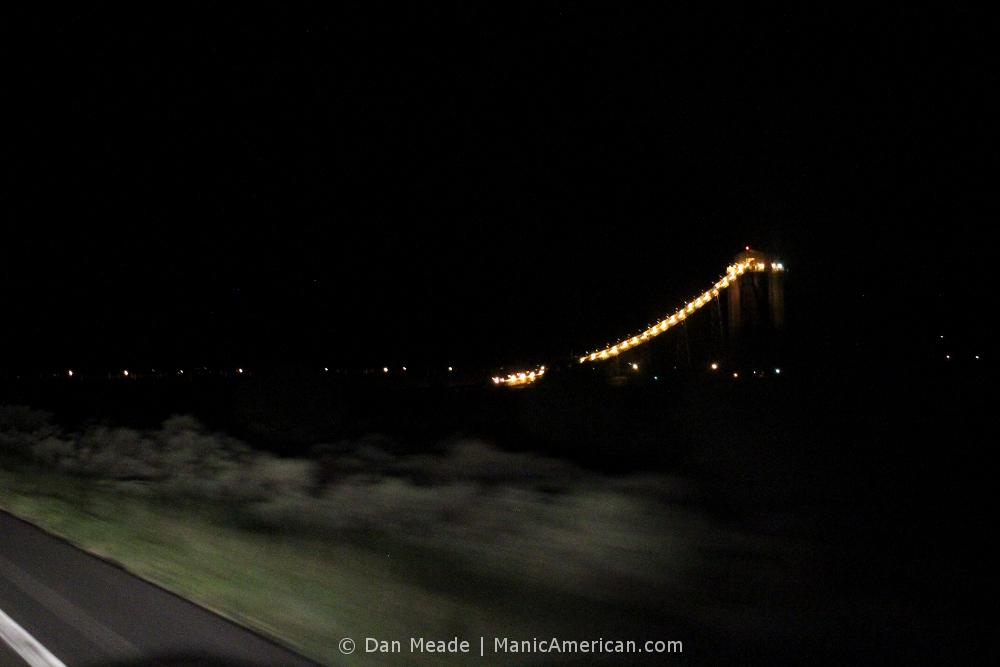 The coal elevator of Peabody Energy's Kayenta Mine at night.